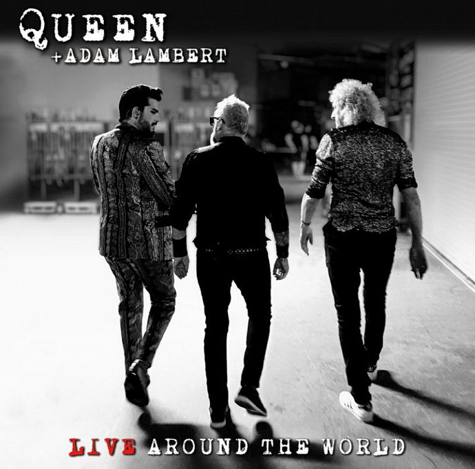 Přebal alba Queen: Live Around The World (Adam Lambert)
